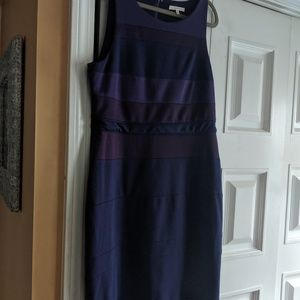 41Hawthorn sleeveless purple dress, XL